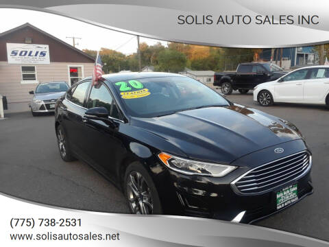 2020 Ford Fusion for sale at SOLIS AUTO SALES INC in Elko NV
