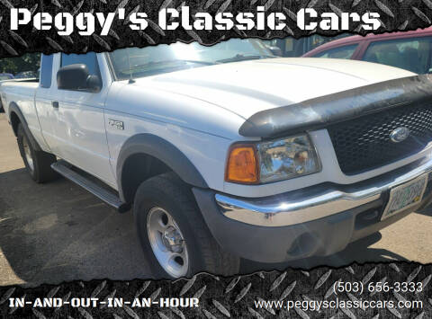 2001 Ford Ranger for sale at Peggy's Classic Cars in Oregon City OR