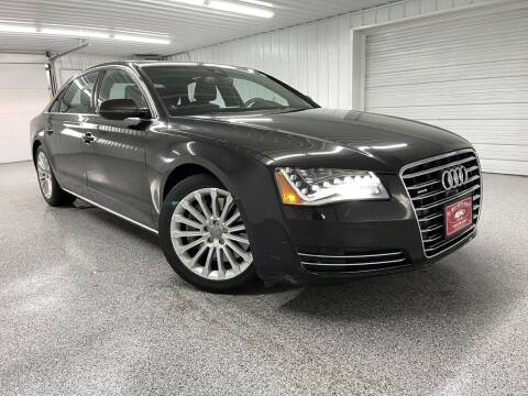 2013 Audi A8 L for sale at Hi-Way Auto Sales in Pease MN