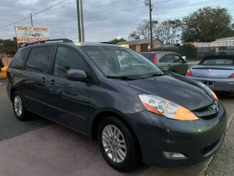2008 Toyota Sienna for sale at LEGACY MOTORS INC in New Port Richey FL