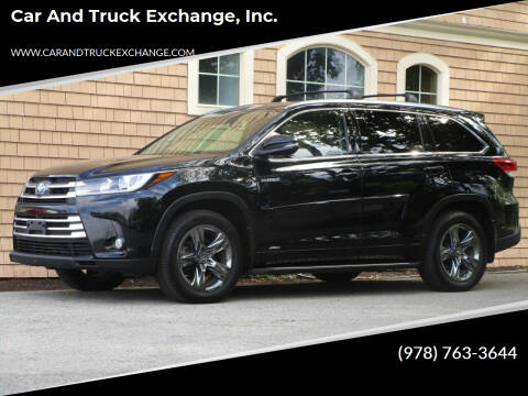 2017 Toyota Highlander Hybrid for sale at Car and Truck Exchange, Inc. in Rowley MA