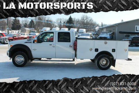 2012 Ford F-450 Super Duty for sale at LA MOTORSPORTS in Windom MN
