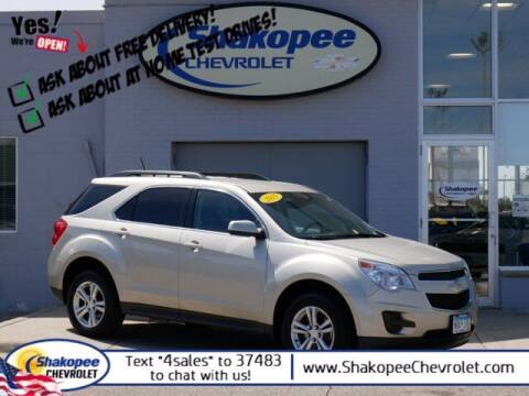 2015 Chevrolet Equinox for sale at SHAKOPEE CHEVROLET in Shakopee MN
