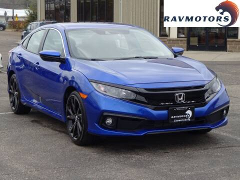 2019 Honda Civic for sale at RAVMOTORS 2 in Crystal MN