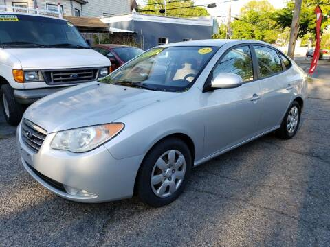2007 Hyundai Elantra for sale at Devaney Auto Sales & Service in East Providence RI