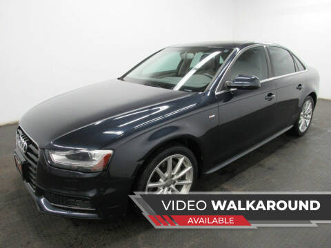 2014 Audi A4 for sale at Automotive Connection in Fairfield OH