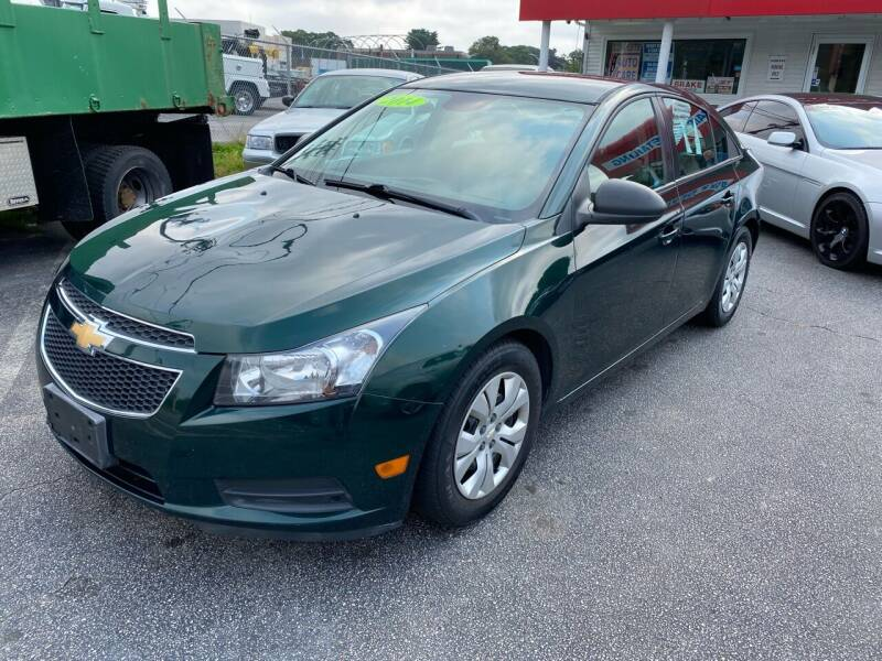 2014 Chevrolet Cruze for sale at Sandy Lane Auto Sales and Repair in Warwick RI