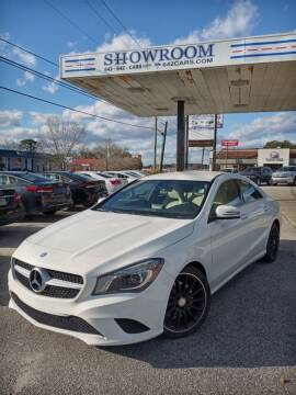 2014 Mercedes-Benz CLA for sale at Showroom Auto Sales of Charleston in Charleston SC