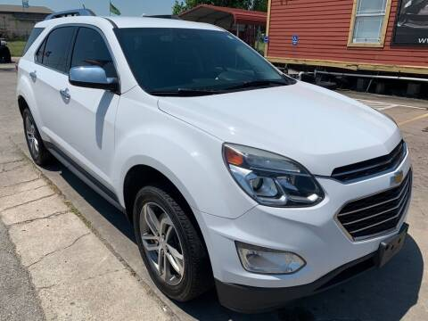 2017 Chevrolet Equinox for sale at JAVY AUTO SALES in Houston TX