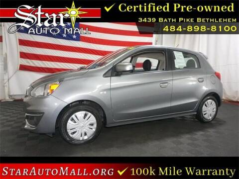 2019 Mitsubishi Mirage for sale at STAR AUTO MALL 512 in Bethlehem PA