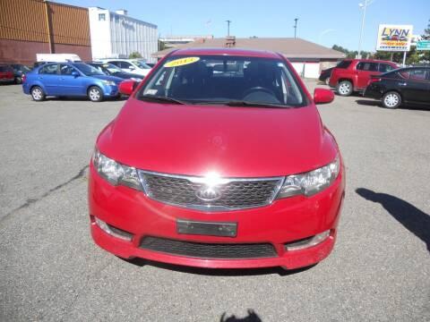 2013 Kia Forte for sale at LYNN MOTOR SALES in Lynn MA