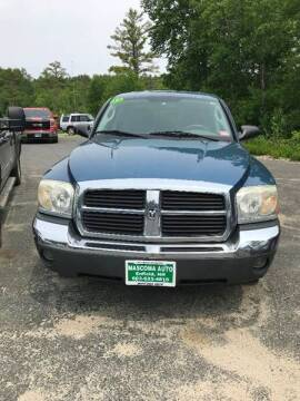 2005 Dodge Dakota for sale at Mascoma Auto INC in Canaan NH