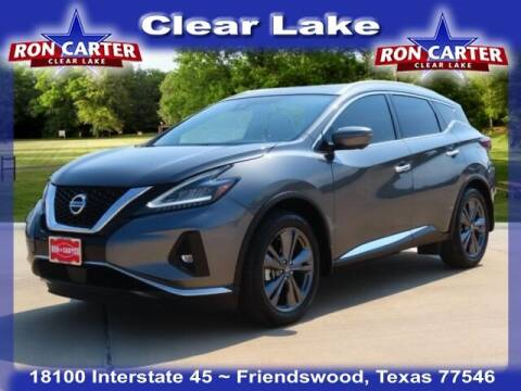 2020 Nissan Murano for sale at Ron Carter  Clear Lake Used Cars in Houston TX