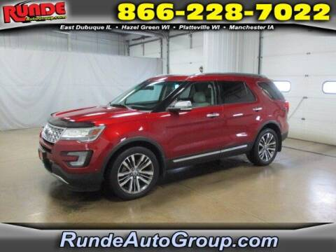 2016 Ford Explorer for sale at Runde PreDriven in Hazel Green WI