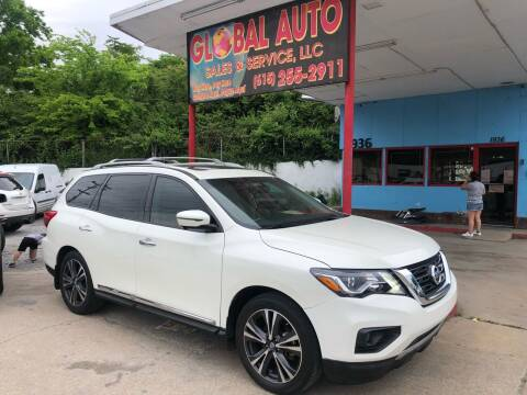 2017 Nissan Pathfinder for sale at Global Auto Sales and Service in Nashville TN