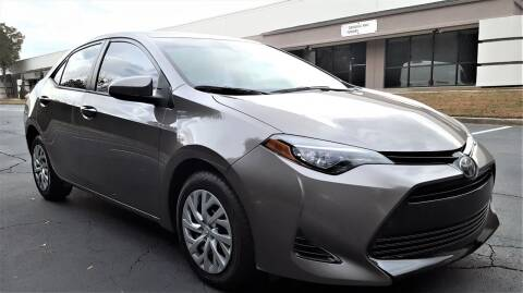 2017 Toyota Corolla for sale at memar auto sales, inc. in Marietta GA