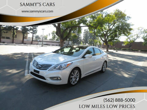 "2014 Hyundai Azera for sale at SAMMY""S CARS in Bellflower CA"