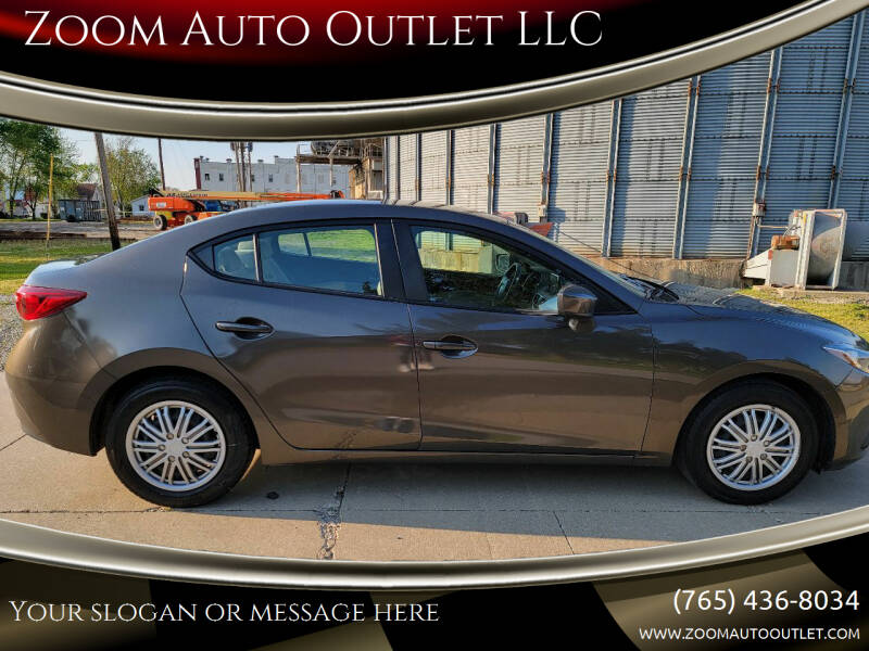 2015 Mazda MAZDA3 for sale at Zoom Auto Outlet LLC in Thorntown IN