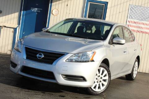 2014 Nissan Sentra for sale at Dynamics Auto Sale in Highland IN