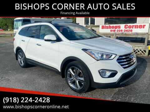 2015 Hyundai Santa Fe for sale at BISHOPS CORNER AUTO SALES in Sapulpa OK