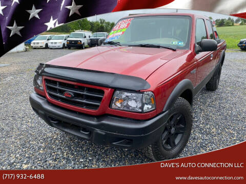 2003 Ford Ranger for sale at Dave's Auto Connection LLC in Etters PA