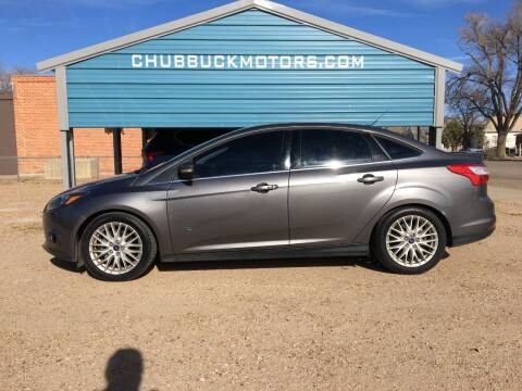 2015 Ford Focus for sale at Chubbuck Motor Co in Ordway CO