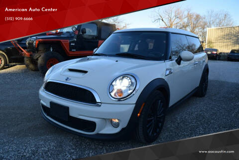 2012 MINI Cooper Clubman for sale at American Auto Center in Austin TX