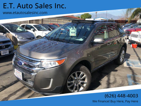 2013 Ford Edge for sale at E.T. Auto Sales Inc. in El Monte CA