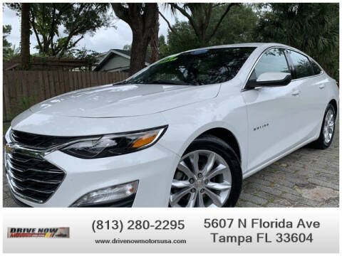 2020 Chevrolet Malibu for sale at Drive Now Motors USA in Tampa FL