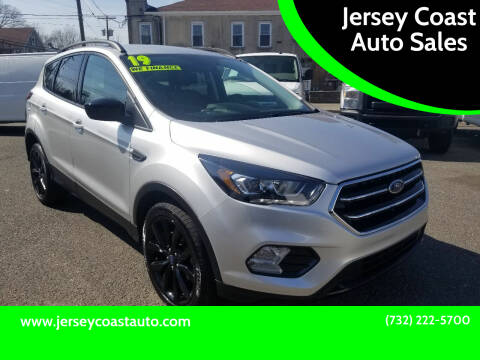 2019 Ford Escape for sale at Jersey Coast Auto Sales in Long Branch NJ