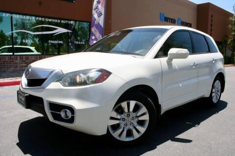 2011 Acura RDX for sale at CK Motors in Murrieta CA