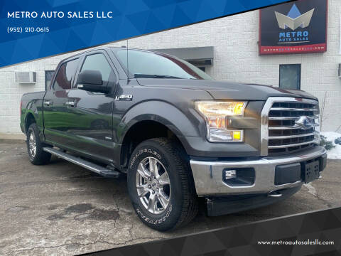 2017 Ford F-150 for sale at METRO AUTO SALES LLC in Blaine MN