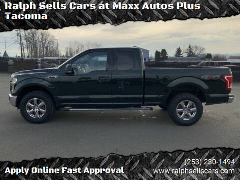 2015 Ford F-150 for sale at Ralph Sells Cars at Maxx Autos Plus Tacoma in Tacoma WA