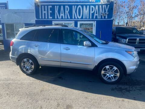 2007 Acura MDX for sale at The Kar Kompany Inc. in Denver CO
