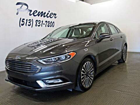 2017 Ford Fusion for sale at Premier Automotive Group in Milford OH