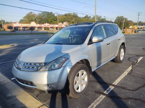 2006 Nissan Murano for sale at Ray Moore Auto Sales in Graham NC