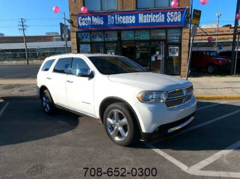 2011 Dodge Durango for sale at West Oak in Chicago IL