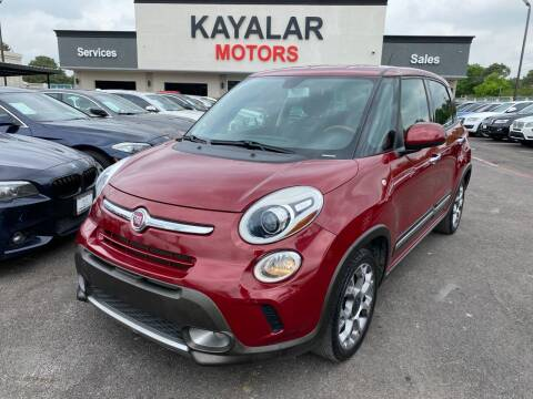 2015 FIAT 500L for sale at KAYALAR MOTORS in Houston TX