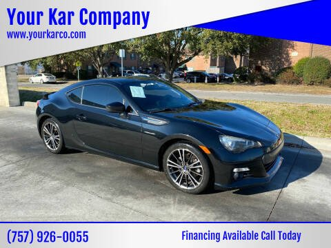 2014 Subaru BRZ for sale at Your Kar Company in Norfolk VA
