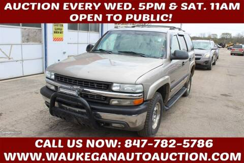 2002 Chevrolet Tahoe for sale at Waukegan Auto Auction in Waukegan IL