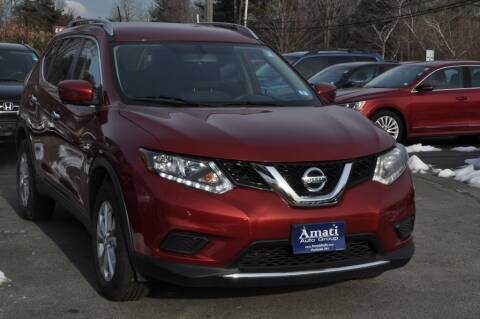 2016 Nissan Rogue for sale at Amati Auto Group in Hooksett NH