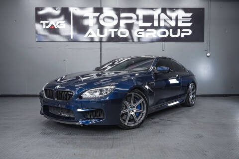 2014 BMW M6 for sale at TOPLINE AUTO GROUP in Kent WA
