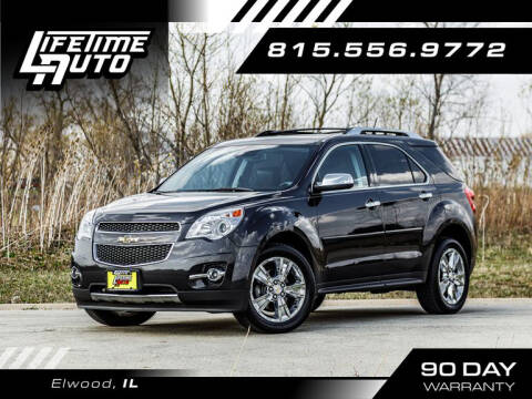 2014 Chevrolet Equinox for sale at Lifetime Auto in Elwood IL