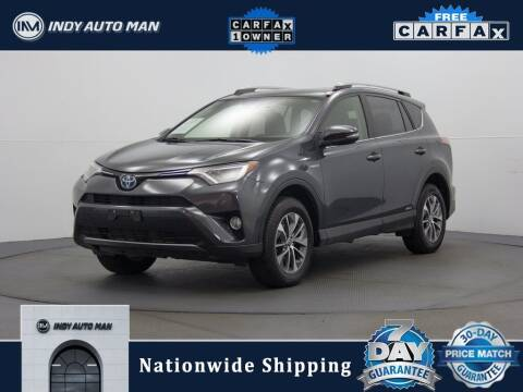 2017 Toyota RAV4 Hybrid for sale at INDY AUTO MAN in Indianapolis IN