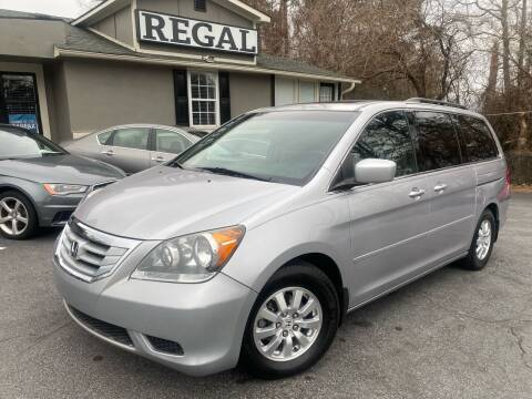 2010 Honda Odyssey for sale at Regal Auto Sales in Marietta GA
