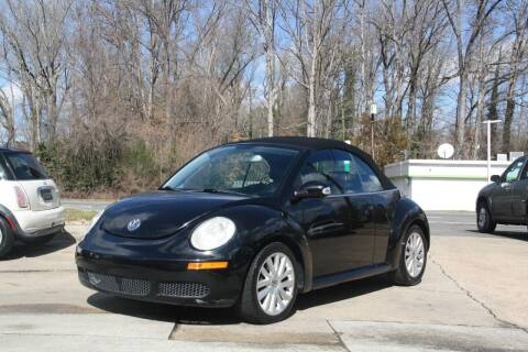 2008 Volkswagen New Beetle Convertible for sale at GTI Auto Exchange in Durham NC