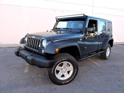 2016 Jeep Wrangler Unlimited for sale at PK MOTORS GROUP in Las Vegas NV