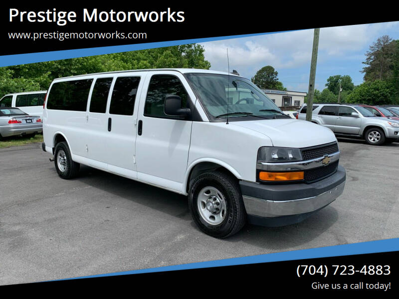 2017 Chevrolet Express Passenger for sale in Concord, NC