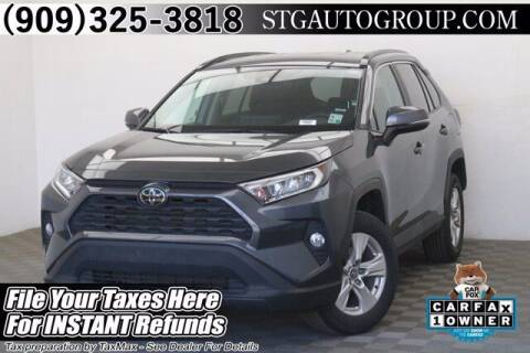 2020 Toyota RAV4 for sale at STG Auto Group in Montclair CA