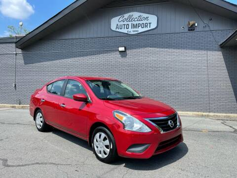 2015 Nissan Versa for sale at Collection Auto Import in Charlotte NC